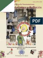 """""""Diálogos interdisciplinarios en el Día Internacional de la Filosofía"""", Posibilidad, Crítica y Reflexión, vol.4"""
