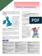 William Shakespeare Text Exercises