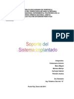Soporte Del Sistema Implant a Do