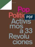 Pop Politics Activisms at 33 Revolutions