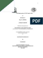 VLSI Implementa