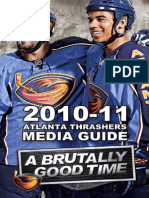 201011 Atlanta Thrashers Media Guide