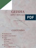 GEISHA - Arte y Rituales