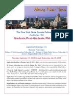 2014-15 Graduate Application