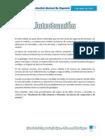 Informe de Maqueta de Fallas