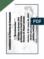 Orientación Internados USF - 2014