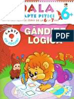 Gandire Logica-Scoala celor 7 pitici