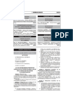 Ley 30102 - Medidas Preventivas Radiacion Solar