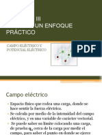 CAPITULO III, Campo y Potencial Electrico
