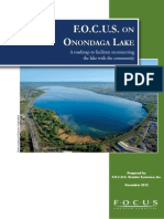 FOCUS Greater Syracuse report on Onondaga Lake