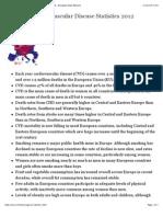 European Cardiovascular Disease Statistics 2012 - EHN - European Heart Network
