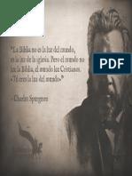 Nosotros Somo La Luz Del Mundo - Charles Spurgeon