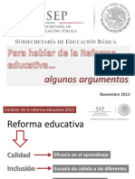Reforma Educativa_Alba Mtz _nov-13