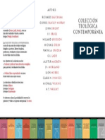 Coleccion Teologica Contemporanea