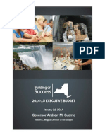 New York Executive Budget Briefing Book 2014/15