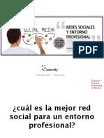 Redes sociales y entorno profesional