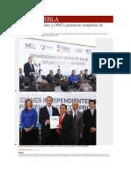 10-01-2014 Milenio.com - Avalan Asociaciones y ONG's Promesas Cumplidas de RMV