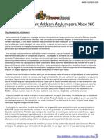 Guia Trucoteca Batman Arkham Asylum Xbox 360