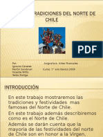 Fiestas y Tradiciones Del Norte de Chile Original