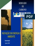 Mercado de Carbono e Eficiencia Energetica