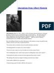 35 Inspiring Quotations From Albert Einstein