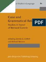 Case.&.Grammatical.relations,2008