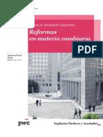 Boletín de Actualidad Corporativa N° 1 - Reformas en Materia Cambiaria