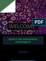 Green IT & Environmental Sustainibiity