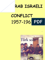 4. Arab-Israeli Conflict 1957-1967