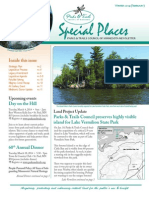 Special Places Newsletter Feb 2014