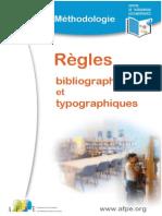 Règles typographiques et bibliographiques