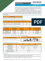 Ficha Tecnica Exatub 71 (Aws e71t-1c Asme e71t-1m)
