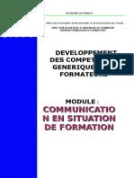 Module 8 Les Techniques de Communication en Formation