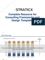 Complete Resource for Consulting Frameworks and Design Templates