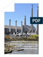 Pittsburg Air Samples Report