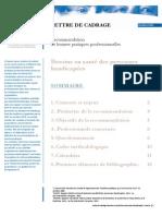 Lettre de Cadrage Besoins en Sante Des Personnes Handicapees 101011