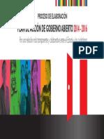 Plan de Acción de Gobierno Abierto 2014-2016