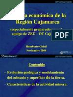 GEOLOGÍA ECONÓMICA DE LA REGIÓN CAJAMARCA