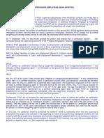 PT&T vs. LAGUESMA (& PT & T SUPERVISORY EMPLOYEES UNION-APSOTEU)