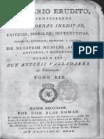 """Fr. Martin Sarmiento - """"Discurso sobre el método que debía guardarse en la primera educación de la juventud, para que sin tanto estudiar de memoria y à la letra tuviesen mayores adelantamientos"""" (1768).pdf"""