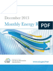Monthly energy review december 2013