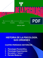 5  BREVE HISTORIA DE LA PSICOLOGÍA