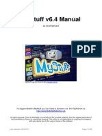 My Stuff 64 Manual