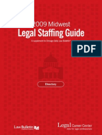 2009 Midwest Legal Staffing Guide