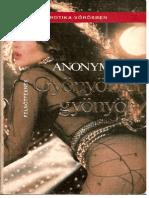 Anonymous-Gyönyörre gyönyör