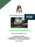 Banco de Preguntas - Razonamiento Logico - Mayo - 2010
