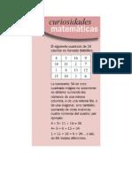 Curiosidades matematicas