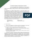 Capitulo 6.3 Aislacion y Pruebas en Trafos