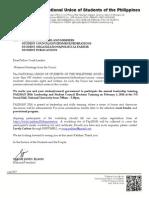 Palihan Manila 2014 Invitation
