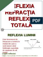 Reflexia Refractia Luminii IX